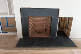 slate fireplace surround removing good