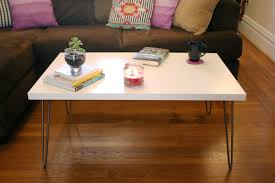Hairpin Legs Coffee Table Hairpin Leg Coffee Table The Surznick Common Room