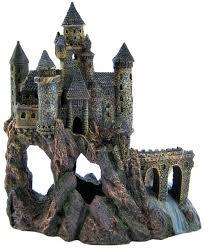 penn plax penn plax castle aquarium decor aquarium buildings