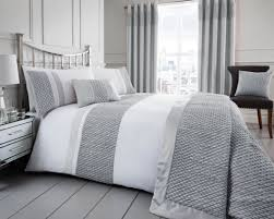 silver duvets in microfibre duck feather hollowfibre or anti allergy