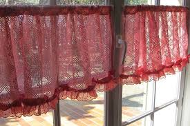 Curtains With Red Inspiration Ideas White Lace Bedroom Curtains With White Lace