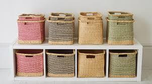 Baskets Com Colourful African Sisal Baskets Handwoven Fairtrade Storage