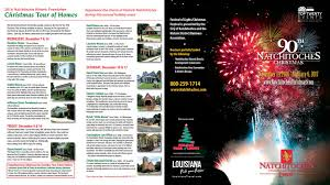 natchitoches christmas brochure 2016 by natchitoches tourism issuu