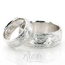 white gold wedding band sets wedding band sets his and hers wedding bands matching wedding