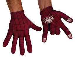 amazon com the amazing spider man movie 2 gloves clothing