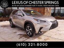 new 2018 lexus nx 300h for sale chester springs pa