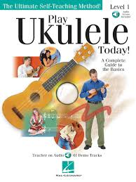 amazon com play ukulele today a complete guide to the basics