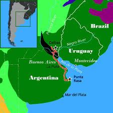 Parana River Map Buenos Días Birding