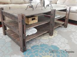 ana white rhyan end table diy projects ana white build a arhaus inspired coffee table featuring sawdust