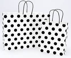 black and white striped gift bags discount shopping bags
