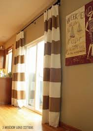 sliding glass doors curtains i u0027m seeing stripes striped curtains doors and window