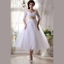 tea length wedding gowns with sleeves high cut wedding dresses