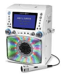 karaoke machine with disco lights singing machine stvg785bk karaoke machine black amazon co uk