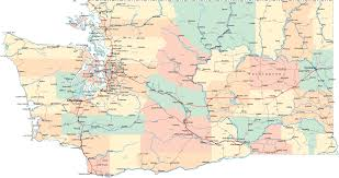 Highway Map Of Oregon by Washington Road Map Wa Road Map Washington Highway Map