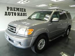 toyota suv sequoia 2001 used toyota sequoia 2001 toyota sequoia limited 4wd suv with