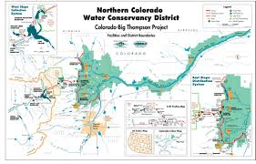 Map Of Colorado River by Transmountain Transbasin Diversions Coyote Gulch