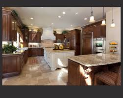 Kitchen Cabinets Light Dark Kitchen Cabinets With Light Granite Countertops Outofhome And