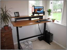 diy standing desk converter diy adjustable standing desk electric creative desk decoration