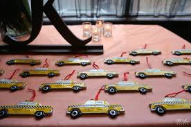 Nyc Wedding Favors by Autumn In New York B Events