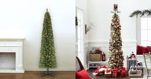 pencil christmas trees michael s 39 99 7 ft pre lit pencil christmas tree 100 value