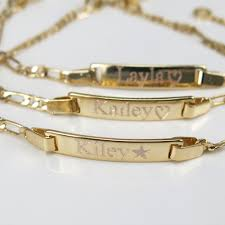 baby bracelets with name new 14k gold filled pulsera de azabache baby bebe bracelet free