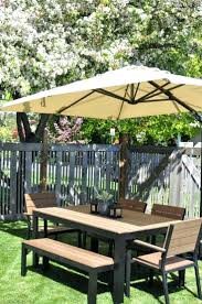 Furniture Farmhouse Outdoor Furniture Style With Lowes Picnic by Lowes Picnic Table Plans Umbrellas Wood 31085 Interior Decor