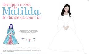 design a dress for matilda printable doll diaries