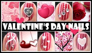 red valentine u0027s day nail designs romantic nail art tutorial
