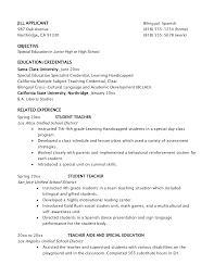 Example Of Teacher Resume 63 Sample Resume Teacher Best Dissertation Writing Services