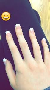 best 25 french acrylic nails ideas on pinterest french manicure