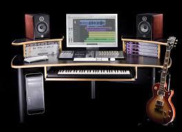 build studio desk ikea recording furniture diy music workstation