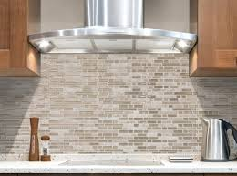 Classic Kitchen Backsplash Classic Kitchen With Brown Glass Mosaic Smart Tile Lowes