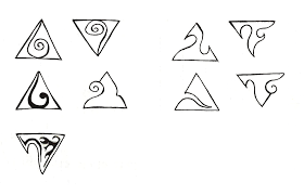 triangle tattoo sketch 01 by maryqueenwolf on deviantart