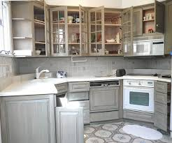Painted Distressed Kitchen Cabinets Interior Design Faux - Faux kitchen cabinets