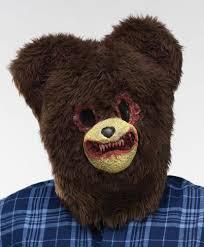 bear mask spirit halloween the best scary halloween costumes scariest halloween costumes