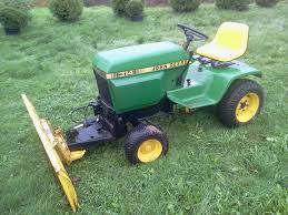 picked up a john deere 314 for work around the house