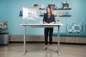 Sit Or Stand Desk by Flextable Height Adjustable Sit Stand Desk Multitable