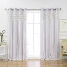 Purple Floral Curtains Floral Purple Curtains Drapes You Ll Wayfair