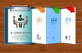 inforgraphic brochure design template free vector in adobe