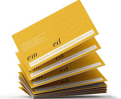 Extra Thick Business Cards Embossed Business Cards 450gsm Extra Thick Super Luxury