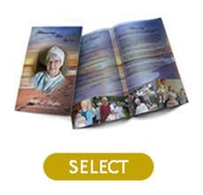printing funeral programs premium custom designs for printed funeral programs