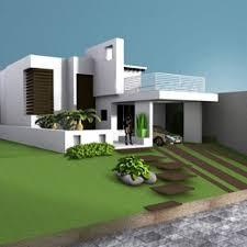 House Villa Residence Building Free 3d Model Id7056 Free 3d House Building Free