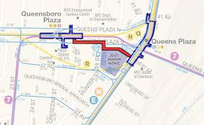 Mta Queens Bus Map Tishman Speyer And H U0026r Reit Have Chance To Link Two Key Long