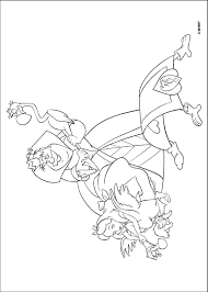 alice wonderland coloring pages