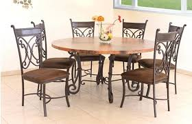 kitchen table round 6 chairs round kitchen table with 6 chairs lesdonheures com