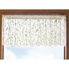 Lace Valance Curtains Heritage Lace Bird Song Bristol Garden Lace Valance Altmeyer S