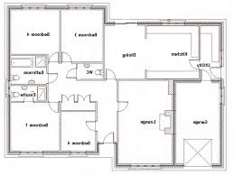53 simple floor plans for ranch homes simple 4 bedroom ranch