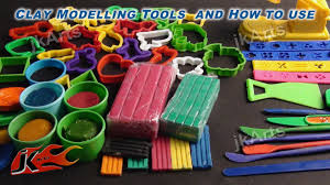 diy clay modelling tools for kids and how to use jk arts 347