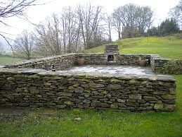 garden walls stone chris elwood dry stone wall new builds and repairs