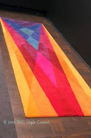 Home And Design Show Nyc by Nyc Style And A Little Cannoli Sonya Vibrant Contemporary Rugs